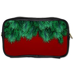 Xmas Tree Toiletries Bags 2 Side