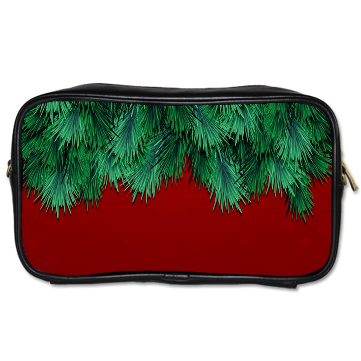 Xmas Tree Toiletries Bags 2-Side