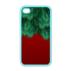 Xmas Tree Apple Iphone 4 Case (color) by jumpercat