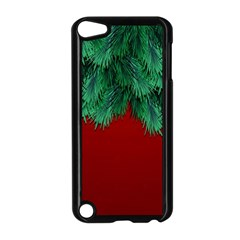 Xmas Tree Apple Ipod Touch 5 Case (black) by jumpercat