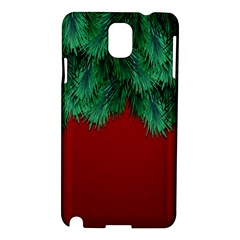Xmas Tree Samsung Galaxy Note 3 N9005 Hardshell Case by jumpercat