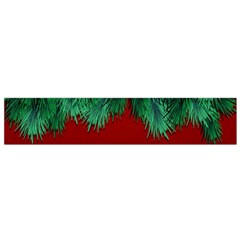 Xmas Tree Small Flano Scarf