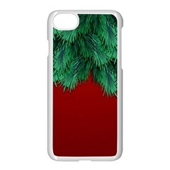 Xmas Tree Apple Iphone 7 Seamless Case (white) by jumpercat