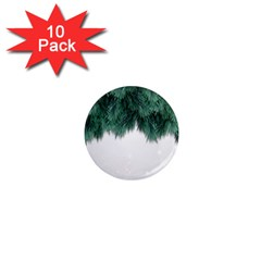 Snow And Tree 1  Mini Magnet (10 Pack)  by jumpercat