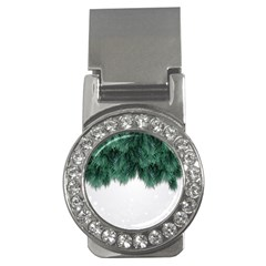Snow And Tree Money Clips (cz)  by jumpercat