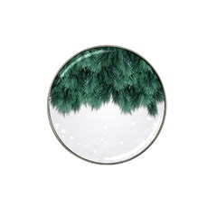 Snow And Tree Hat Clip Ball Marker