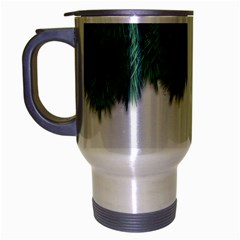 Snow And Tree Travel Mug (silver Gray) by jumpercat