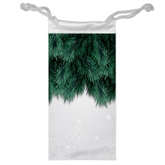 Snow And Tree Jewelry Bag by jumpercat