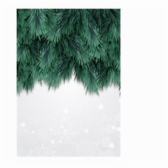 Snow And Tree Large Garden Flag (two Sides) by jumpercat