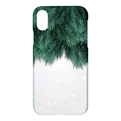 Snow And Tree Apple Iphone X Hardshell Case