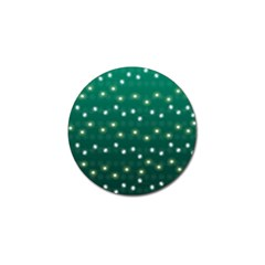Christmas Light Green Golf Ball Marker (10 Pack) by jumpercat