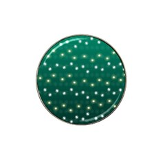 Christmas Light Green Hat Clip Ball Marker (4 Pack) by jumpercat