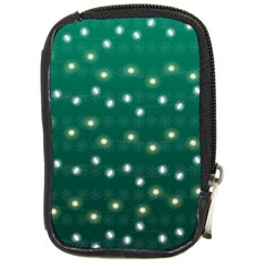 Christmas Light Green Compact Camera Cases