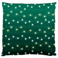 Christmas Light Green Standard Flano Cushion Case (two Sides)