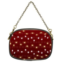 Christmas Light Red Chain Purses (one Side)  by jumpercat