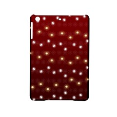 Christmas Light Red Ipad Mini 2 Hardshell Cases by jumpercat