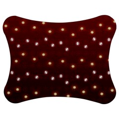 Christmas Light Red Jigsaw Puzzle Photo Stand (bow)