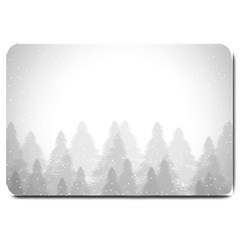 Winter Land Light Large Doormat  by jumpercat