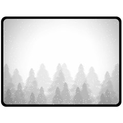 Winter Land Light Fleece Blanket (large)  by jumpercat