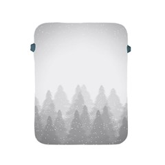 Winter Land Light Apple Ipad 2/3/4 Protective Soft Cases