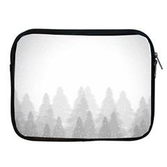 Winter Land Light Apple Ipad 2/3/4 Zipper Cases