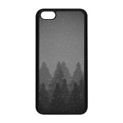 Winter Land Dark Apple Iphone 5c Seamless Case (black) by jumpercat