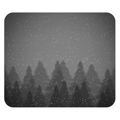 Winter Land Dark Double Sided Flano Blanket (small)  by jumpercat