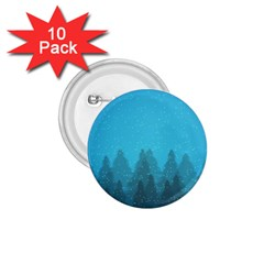 Winter Land Blue 1 75  Buttons (10 Pack) by jumpercat