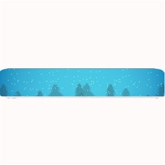 Winter Land Blue Small Bar Mats by jumpercat