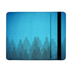 Winter Land Blue Samsung Galaxy Tab Pro 8 4  Flip Case
