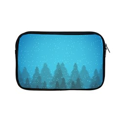 Winter Land Blue Apple Macbook Pro 13  Zipper Case