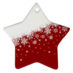 Xmas Snow 01 Ornament (star)