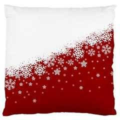 Xmas Snow 01 Standard Flano Cushion Case (two Sides) by jumpercat