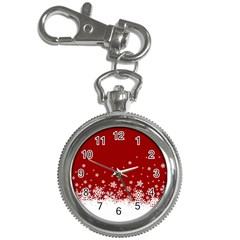 Xmas Snow 02 Key Chain Watches by jumpercat
