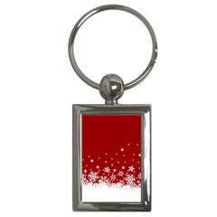 Xmas Snow 02 Key Chains (rectangle)  by jumpercat