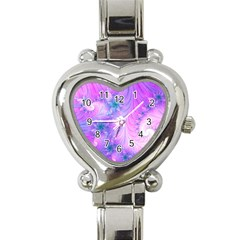 Delicate Heart Italian Charm Watch by Delasel