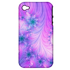 Delicate Apple Iphone 4/4s Hardshell Case (pc+silicone) by Delasel