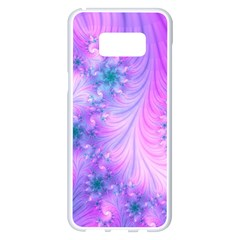 Delicate Samsung Galaxy S8 Plus White Seamless Case by Delasel