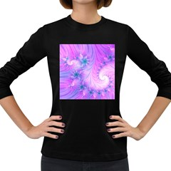 Delicate Women s Long Sleeve Dark T Shirts by Delasel