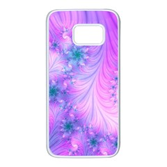 Delicate Samsung Galaxy S7 White Seamless Case by Delasel
