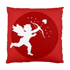 Cupid Bow Love Valentine Angel Standard Cushion Case (one Side)