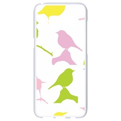 Birds Colourful Background Samsung Galaxy S8 White Seamless Case