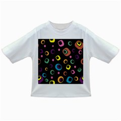 Abstract Background Retro 60s 70s Infant/toddler T Shirts