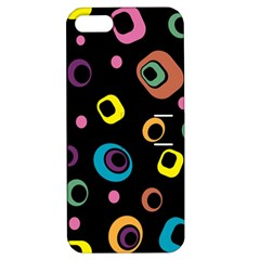 Abstract Background Retro 60s 70s Apple Iphone 5 Hardshell Case With Stand