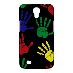 Handprints Hand Print Colourful Samsung Galaxy Mega 6 3  I9200 Hardshell Case by Celenk