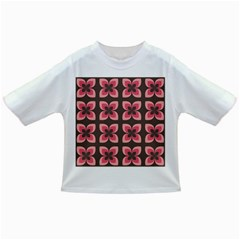 Floral Retro Abstract Flowers Infant/toddler T Shirts