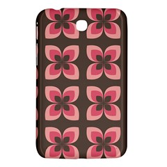 Floral Retro Abstract Flowers Samsung Galaxy Tab 3 (7 ) P3200 Hardshell Case