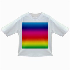 Spectrum Background Rainbow Color Infant/toddler T Shirts