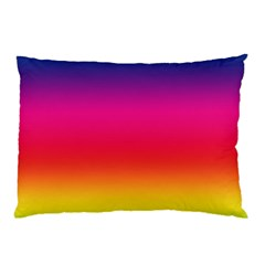 Spectrum Background Rainbow Color Pillow Case (two Sides)