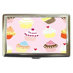 Cupcakes Wallpaper Paper Background Cigarette Money Cases by Celenk